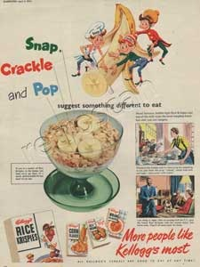 1954 Kellogs Rice Krispies