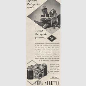 1954 Agfa Sillette 35mm Camera