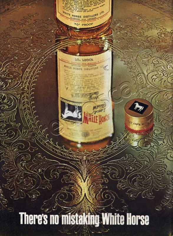 1964 White Horse Scotch Whiskey - unfarmed