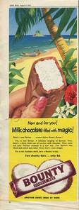 1955 Bounty Bar vintage advert
