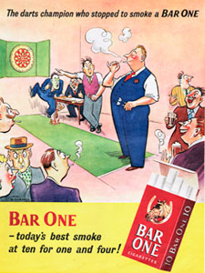 1952 Bar One Cigarettes