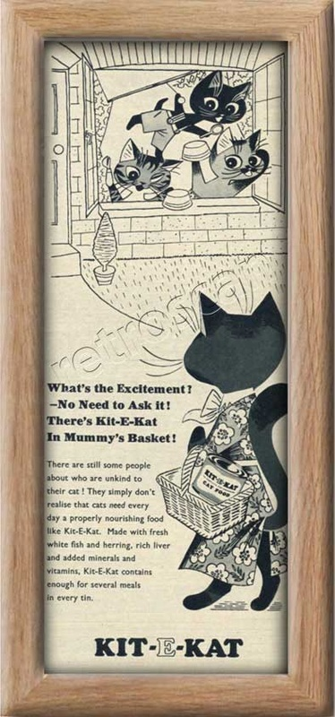 1955 Kit-E-Kat  - framed preview