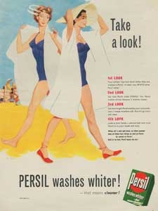 1954 Persil Washing Powder Look