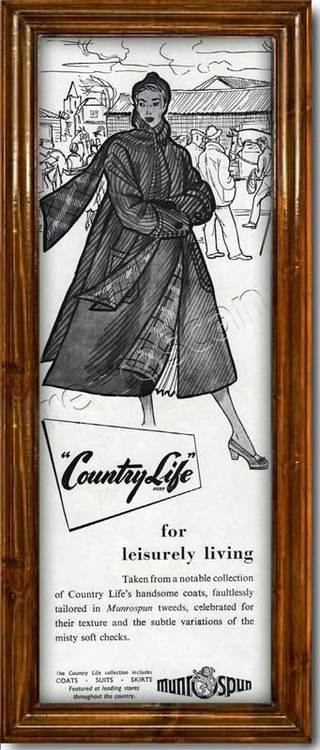 1950 vintage Country life by Burnett