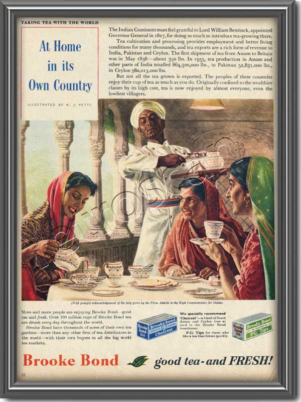1956 Brooke Bond Tea - Framed Preview