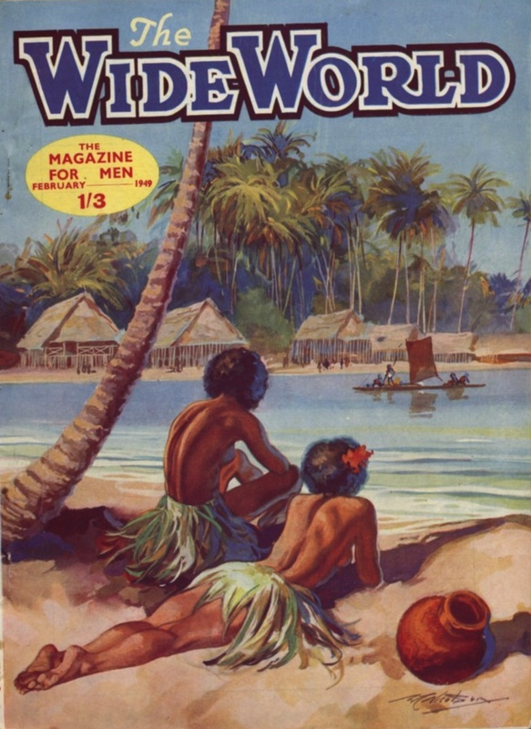 781 × 1070 1949 Wide World Magazine Front Cover - February