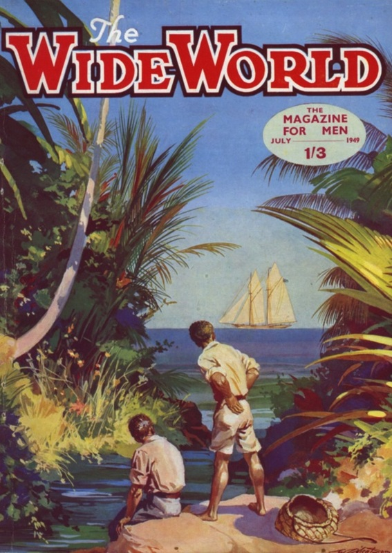 754 × 1063 1949 Wide World Magazine Front Cover - July