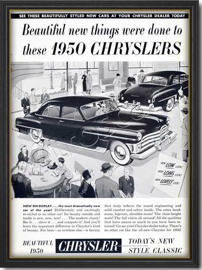 1950 Chrysler  - framed preview