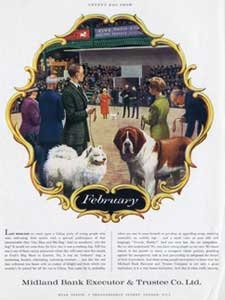 1961 Midland Bank - Crufts Vintage