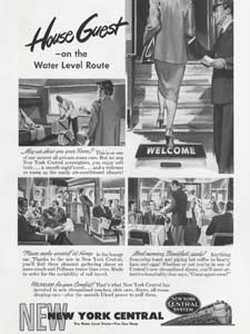 1949 New York Central advert