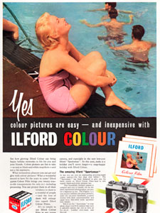 1958 Ilford colour film