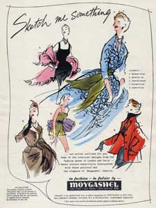 1953 Moygashel Fashion Fabrics