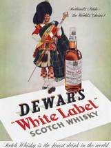 1953 Dewar's White Label Scotch Whisky Piper 600 x 800