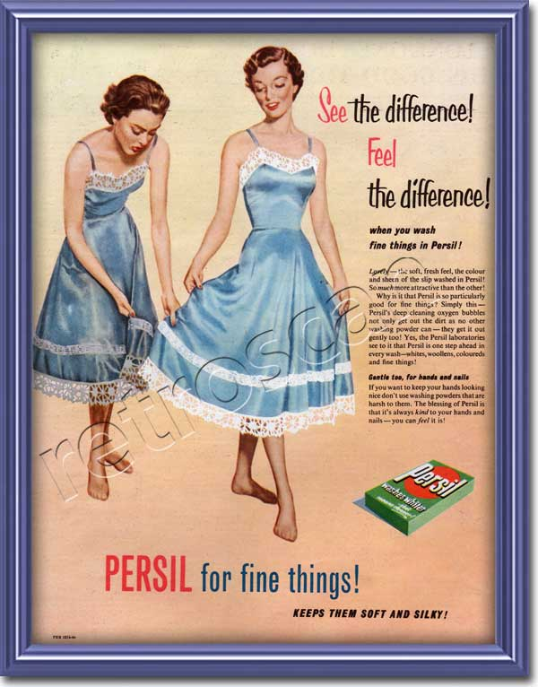 1955 Persil Washing Powder - framed preview
