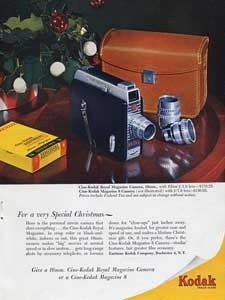 1952 Cine-Kodak Royal Magazine Camera