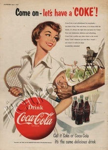 1954 Coca Cola 'Tennis' UK