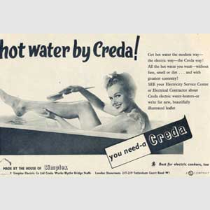 1954 Creda Water Heaters