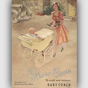 1952 Silver Cross Prams