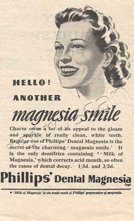 1947 Phillips advert
