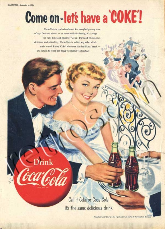 1953 Coca Cola - unframed