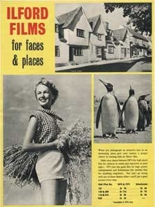 1954 Ilford Films