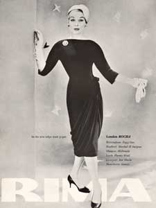 1958 Rima advert