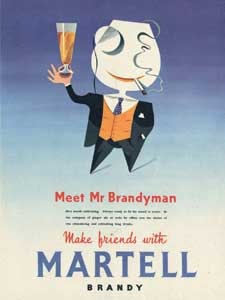1955 Martell Brandy (mr Brandyman)