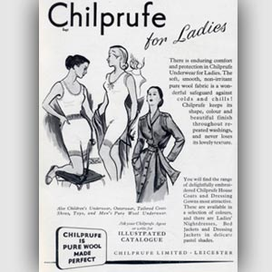 retro Chilprufe ad