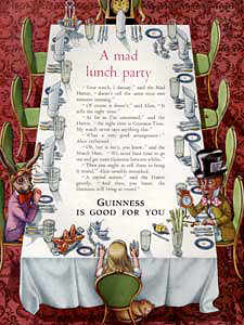 1954 Guinness  - vintage ad