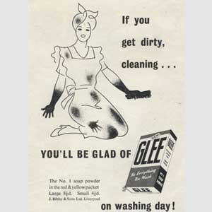 1948 Glee Soap Powder