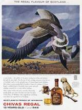 1962 Chivas Regal  Scotch whisky - flying goose