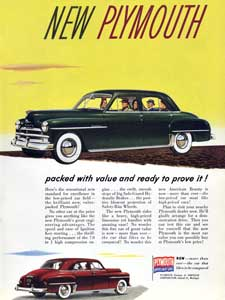 1950 Plymouth Automobiles