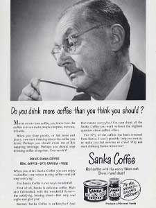 1950 Sanka Coffee
