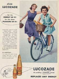 1952 Lucozade Energy Drink