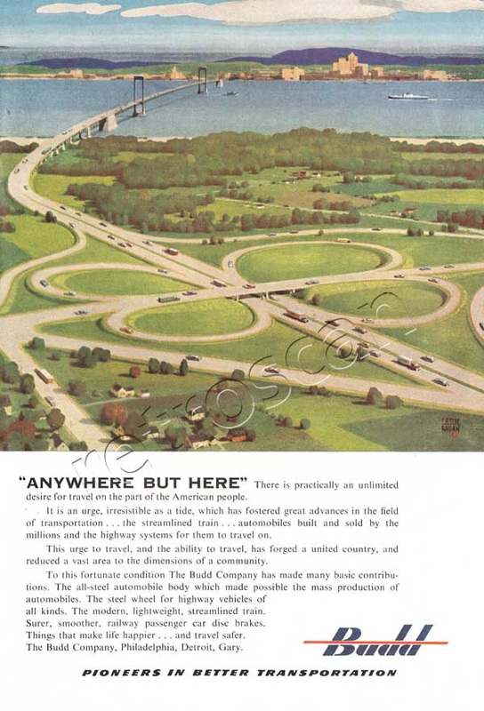 1952 Budd Engineering vintage ad