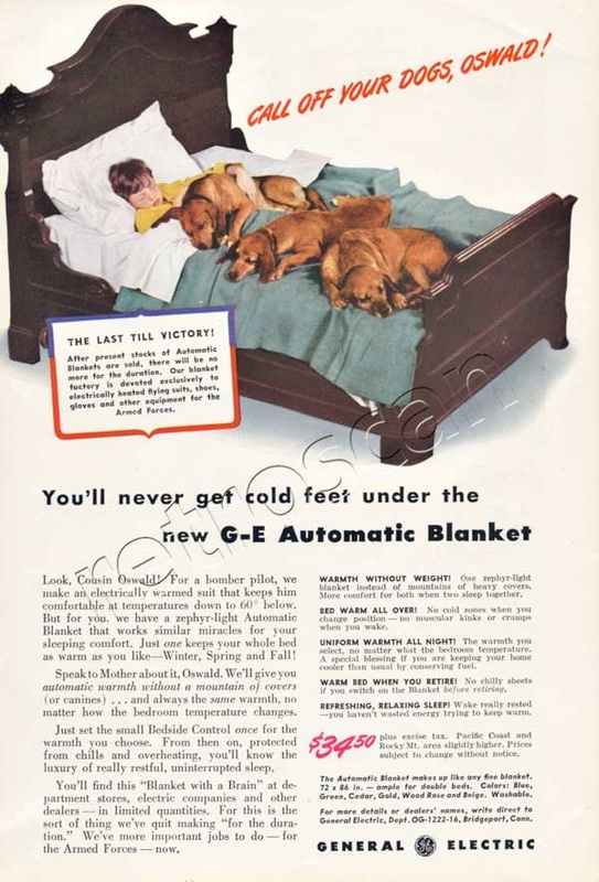 1942 General Electric Automatic Blanket