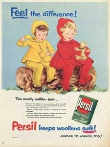 1955 Persil Washing Poawder