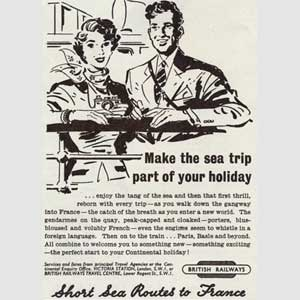 1952 British Rail / French Holidays
