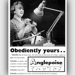 1958 Anglepoise - vintage ad