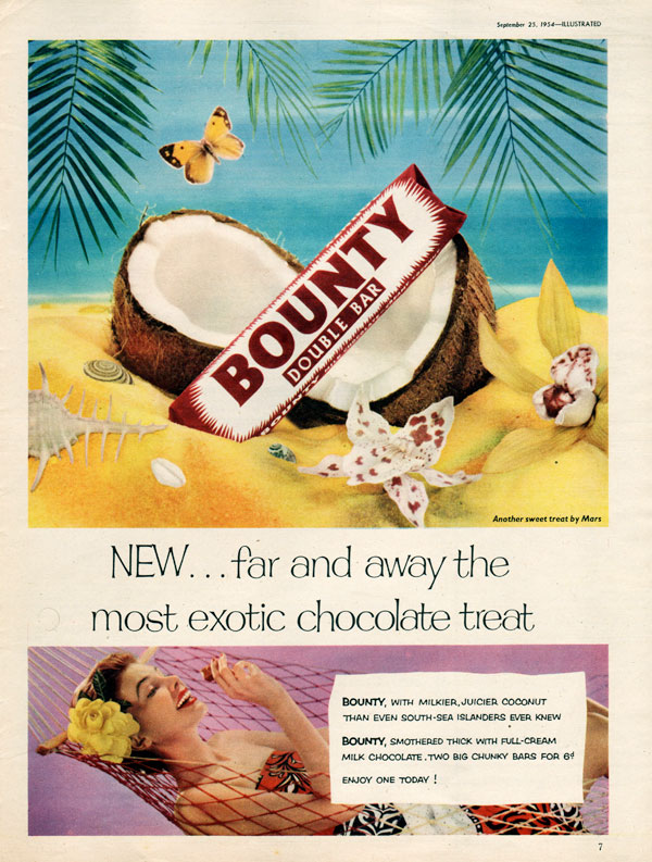 Bounty Bar 'Beach' - unframed