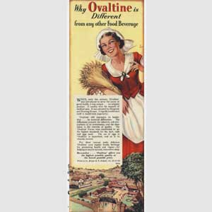 1952 Ovaltine advert