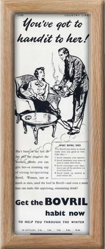 1951 Bovril  - framed preview