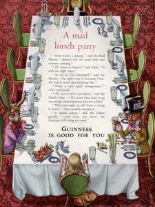 1954 Guinness Mad Lunch Party