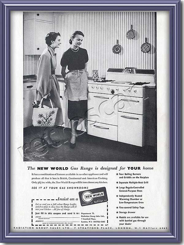retro New World Cookers