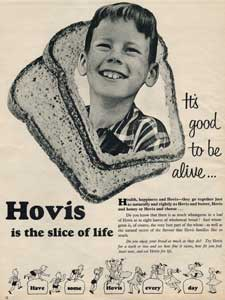 1955 Hovis Sliced Bread