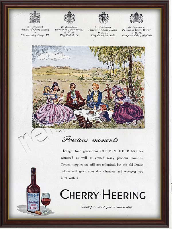 1952 Cherry Heering - framed preview