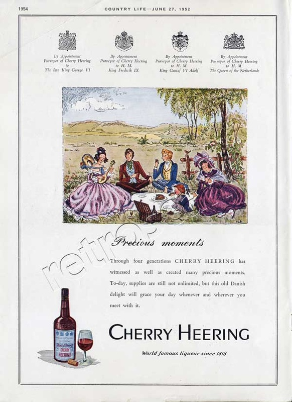 1952 Cherry Heering - unfarmed