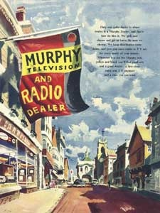 1954 Murphy TV and Radio