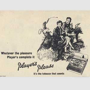 1953 Player's Cigarettes