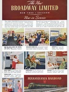 1949 Pennsylvania Railroad (Broadway)
